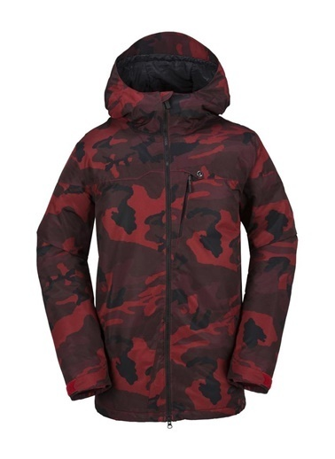 Volcom Kayak Montu Kırmızı